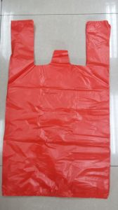 Hepe Red T-Shirt Bag Shopping Bag Carry Bag pictures & photos