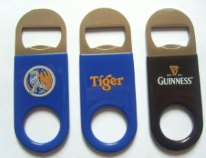 Aluminum Bottle Opener with Laser Logo pictures & photos