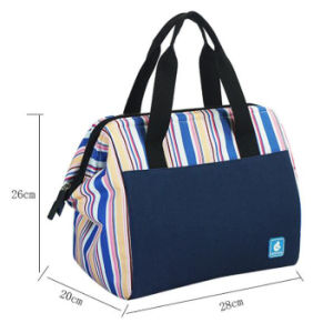 Canvas Tote Insulated Cooler Lunch Bags pictures & photos
