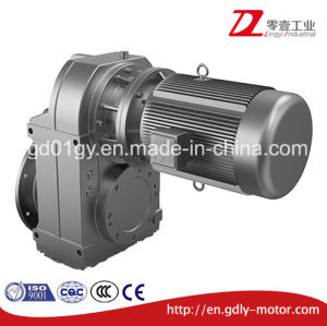 F Series Parallel Shaft Flange Mounted/Hollow Shaft Helical Geared Motor pictures & photos