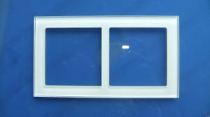 Glass Plate with Tempered for Wall Switch Application From Factory pictures & photos
