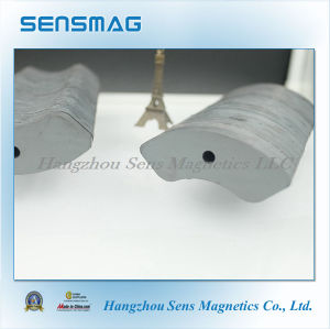 Manufacture Customized Ferrite Arc Magnet for Motor pictures & photos
