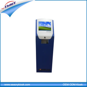 Most Popular Touch Screen Payment Kiosk Machine with Card Reader pictures & photos