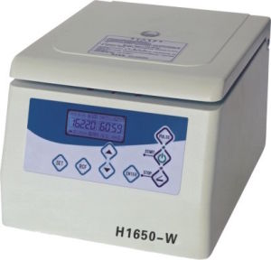 H1650W Tabletop High Speed Micro Centrifuge pictures & photos