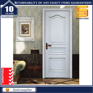 Plywood Doors Laminated Veneer Door with Painting pictures & photos