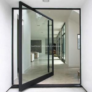 Hanssuno Modern Pivot Door pictures & photos