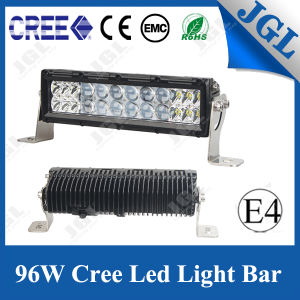 96W Double Row Truck Offroad for Jeep CREE LED Light Bar