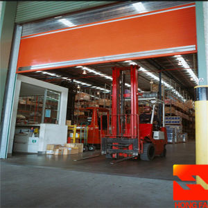 Automatic Fabric High Speed Roll up Door (HF-K434) pictures & photos