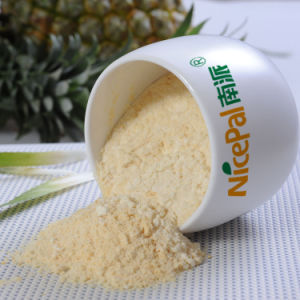 Factory Direct Supply Natural Flavor Pineapple Powder/ Spray Dried Pineapple Fruit Powder/ Pineapple Juice Powder pictures & photos