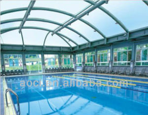 Zhejiang Aoci Poly Carbonate Super Weather Resistant Solid Sheet for The Swimming Pool pictures & photos