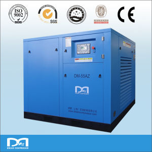 37kw Stationary Industrial Air Cooled Electric Rotary Screw Type Air Compressor pictures & photos