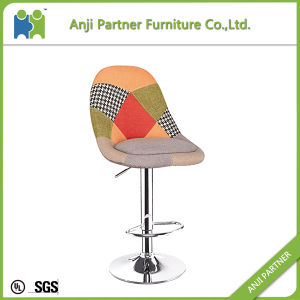New Products on China Market Patchwork Fabric Cover Bar Stool (Bavi) pictures & photos