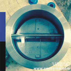 Cast Steel Body Wafer Type Dual Plate Check Valve pictures & photos