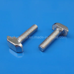 Carbon Steel T Head Bolt Nickel Plated pictures & photos