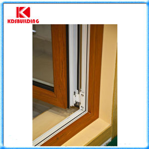 Aluminum Clading Wood Casement Window (KDSW070)