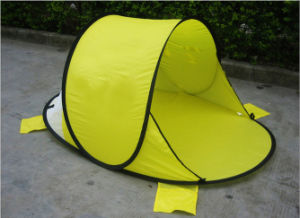 Carries Portable Easyup High-Qua Sunshelter Beach Tent for Camping