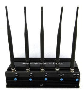 5 Antennas Desktop Mobile Phone Signal Jammer GSM Jammer 3G 4G Jammer pictures & photos