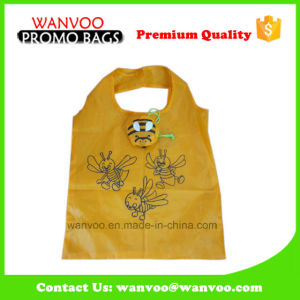 Wholesale Printing High Quality Polyester Foldable Shopping Folding Bag pictures & photos
