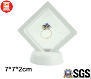 Plastic Packaging for Jewelry, 3D Display Show Box, Packing Box for Jewelry