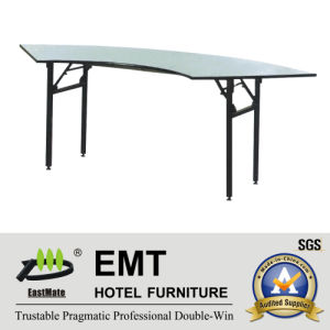 Hotel Banqueting Hall Foldable Banquet Table (EMT-FT604) pictures & photos