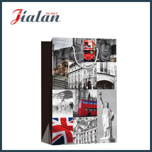 Glossy Laminated Cheap Made OEM Wholesales Customize Printed Paper Bag pictures & photos