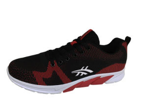 Fashion Running Shoes with Flyknit Upper Kt-61070