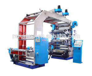 6color Plastic Film High Speed Ceramic Anilox Roller Printing Machine pictures & photos