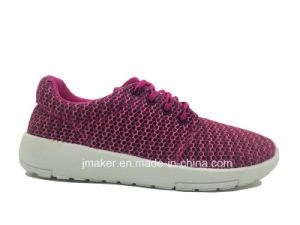 New Arrival Womens Sports Shoe with PVC Outsole (J2267-L)