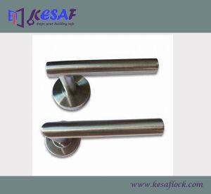 Hollow Lever Stainless Steel Door Lock Handle Manufacturer (HHR013)