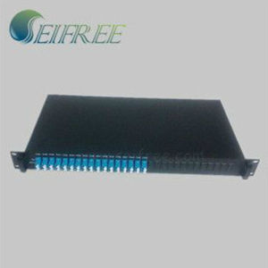 1*16 Fiber Optic Cable Splitter with 19 Inch Rack Mount pictures & photos