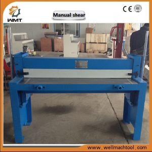 Good Price Manual Sheaing Machine Q01-1.5X1500 Q01-1.25X2000 pictures & photos