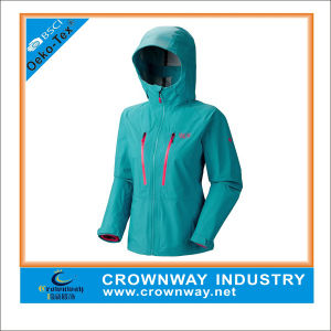Wholesale Bright Breathable Waterproof Jacket for Women pictures & photos