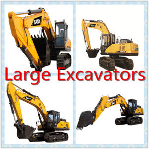 Sany Crawler Excavators Back Hoe Type pictures & photos