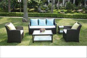 PE Rattan Sofa Set Outdoor Sofa pictures & photos