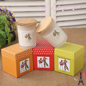Wholesale Recycled New Design Scented Cardborad Gift Candle pictures & photos