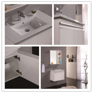 Fashion Demeter PVC Wall Bathroom Vanity with The Mirror pictures & photos