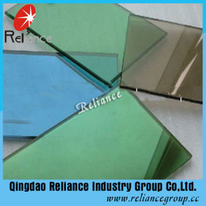 3.5mm-10mm Reflective Glass / Float Glass/ Tinted Float Glass /Dark Blue Reflective Glass /Dark Green Reflective Glass/ Bronze Reflective Glass pictures & photos