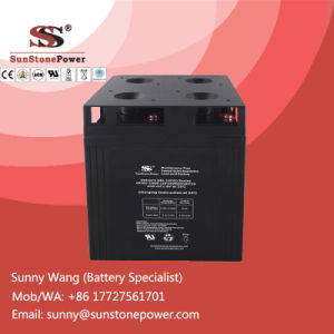 Deep Cycle Gel Battery 2V 1500ah Solar Panel Battery pictures & photos