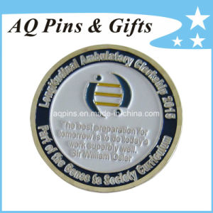 Soft Enamel Coins in Antique Silver Plating, Metal Coin pictures & photos