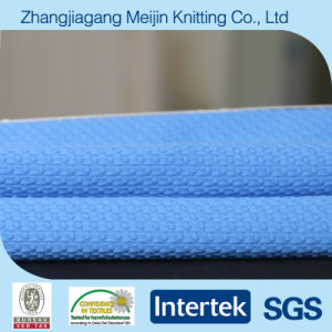 Weft Polyester Spandex Seersucker Stretch Fabric for Sports Garment (MJ5002)