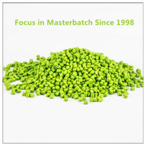 Green Plastic Masterbatch for Injection