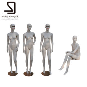 Make up Female Fiberglass Mannequins pictures & photos