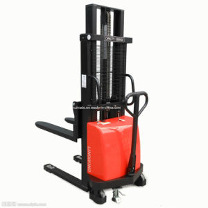 Warehouse Industrial Forklift Lift Truck Electric Pallet Truck Stacker pictures & photos