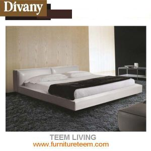 New Design Home Furniture Bedroom Set Leather Beds pictures & photos