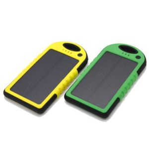 Drop Resistance Waterproof Solar Power Bank pictures & photos