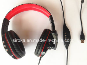 Deep Bass Stereo USB Headset VoIP Headphone with High Quality pictures & photos
