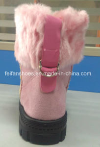 Latest Injection Boots MID-Calf Boots Comfortable Snow Boots Winter Boots Stock Shoes (FF328-2) pictures & photos