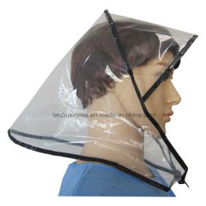 PE Rain Bonnet with Black Package Edge pictures & photos
