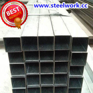 ERW Galvanizedwelded Square Steel Pipe (T-02) pictures & photos