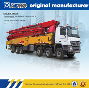 XCMG Official Manufacture Hb37k Truck Mounted Concrete Pump with Mixer pictures & photos